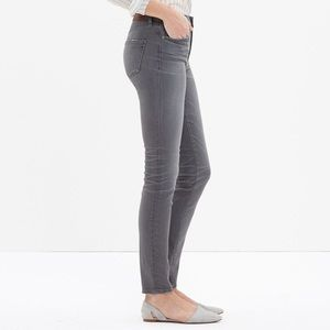 Madewell Jeans - Madewell high rise skinny jeans, 27, faded black